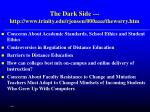 the dark side http www trinity edu rjensen 000aaa theworry htm