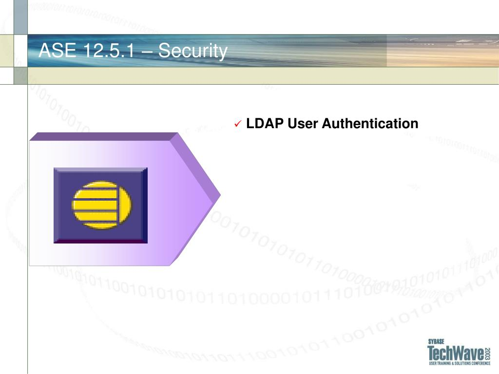 ASE 12.5.1 – Security