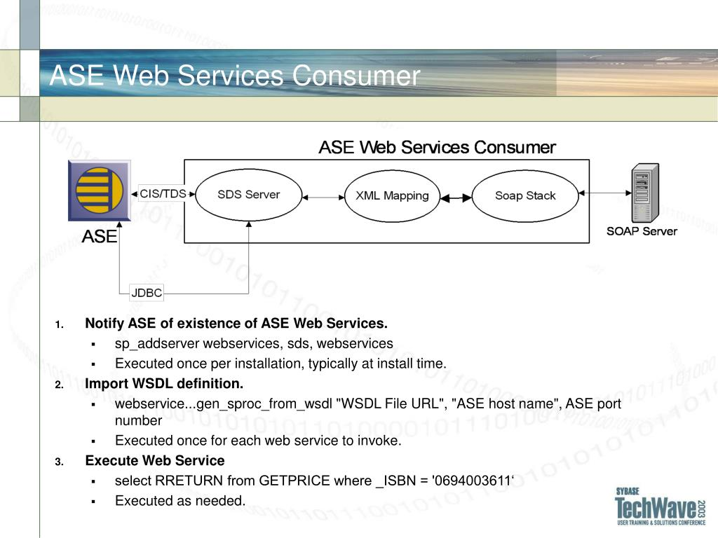ASE Web Services Consumer