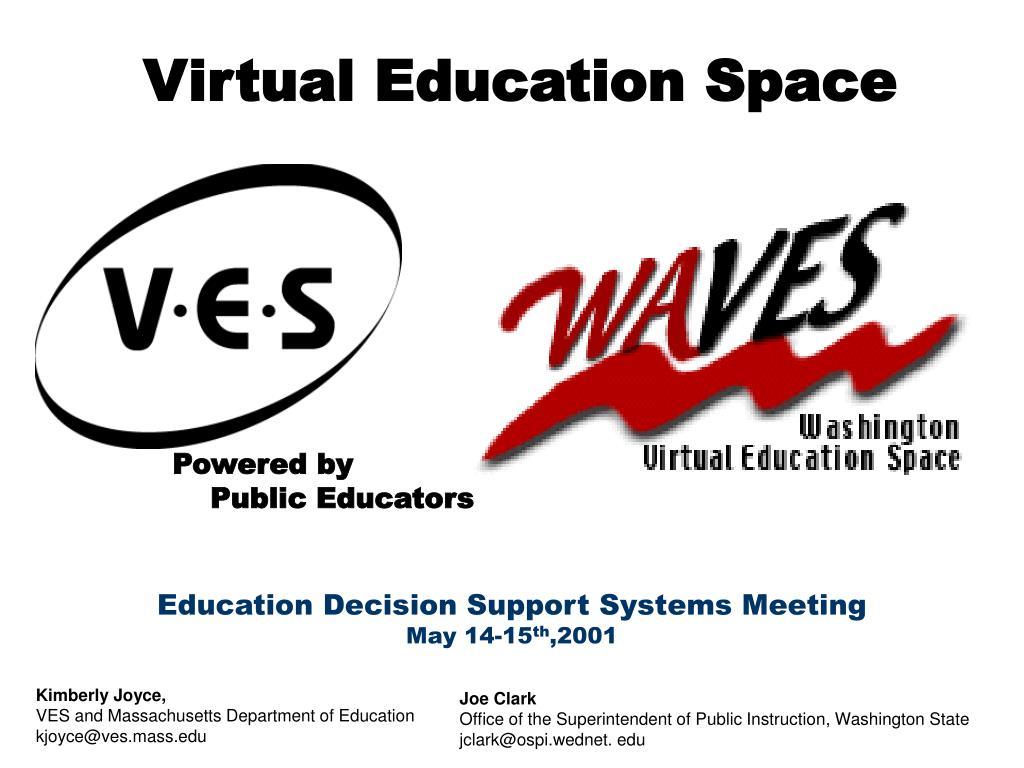 virtual education space l.