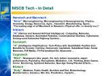niscb tech in detail