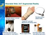 wearable web 24 7 augmented reality