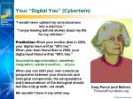 your digital you cybertwin