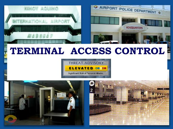 TERMINAL  ACCESS CONTROL
