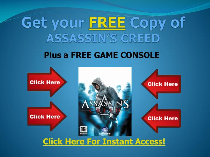get your free copy of assassin s creed n.