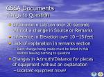 cssa documents things to question