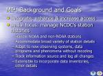 mi 3 background and goals