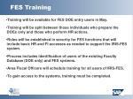 fes training