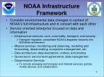 noaa infrastructure framework