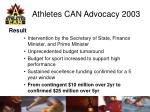 athletes can advocacy 200314
