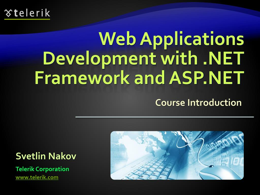 web applications development with net framework and asp net l.