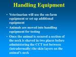 handling equipment12