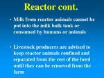 reactor cont25