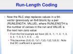 run length coding1