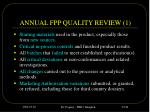 annual fpp quality review 1
