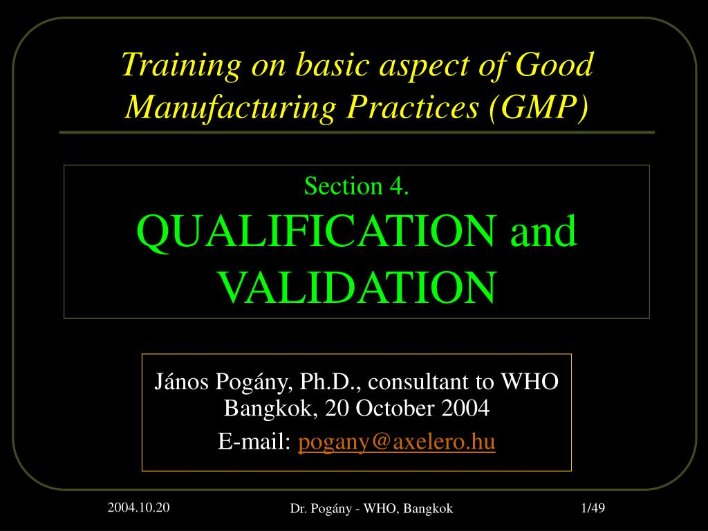 j nos pog ny ph d consultant to who bangkok 20 october 2004 e mail pogany@axelero hu l.