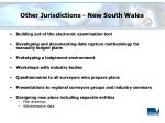 other jurisdictions new south wales
