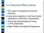 1a contextual observations