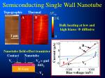 semiconducting single wall nanotube