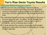yen s rise dents toyota results16