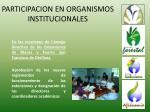 participacion en organismos institucionales44