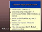 cases for major penalty contd