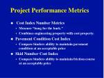 project performance metrics12