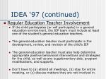 idea 97 continued