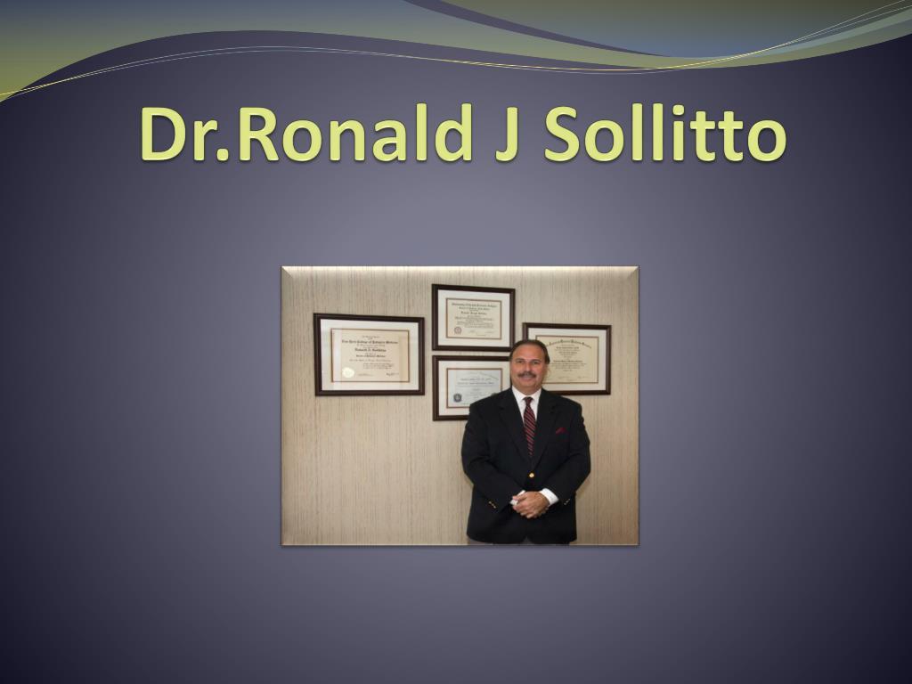 dr ronald j sollitto