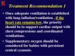 treatment recommendation 1