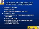 liquified petroleum gas properties characteristics10