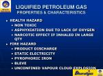 liquified petroleum gas properties characteristics11