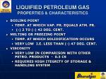 liquified petroleum gas properties characteristics8