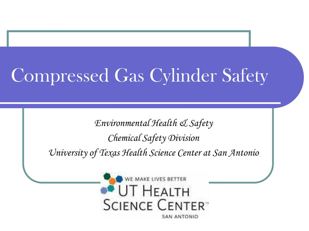 compressed gas cylinder safety l.