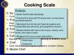 cooking scale