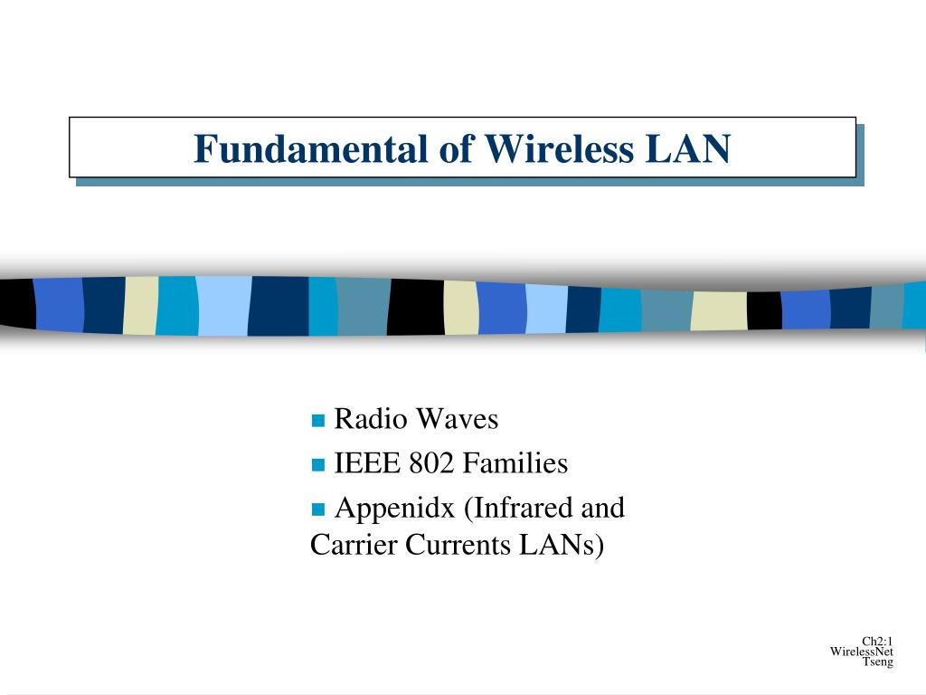 fundamental of wireless lan l.