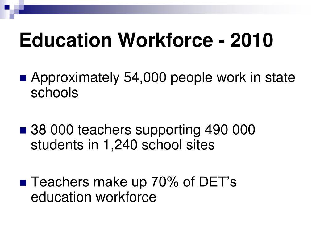 Education Workforce - 2010