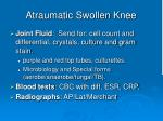 atraumatic swollen knee2