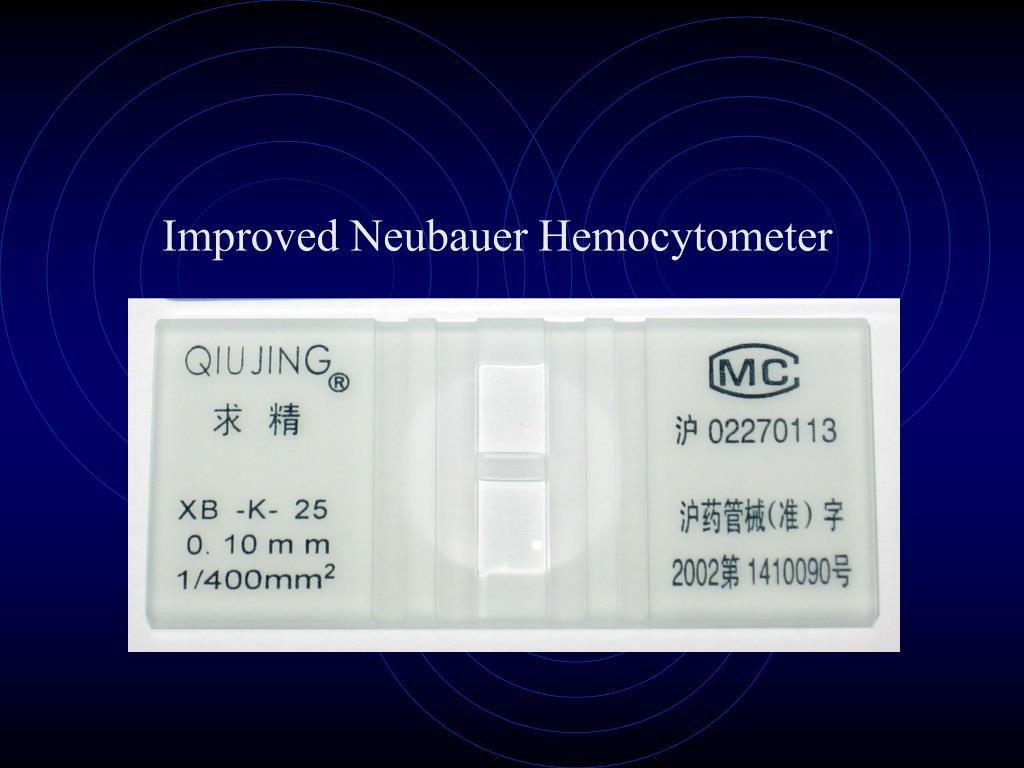 Improved Neubauer Hemocytometer