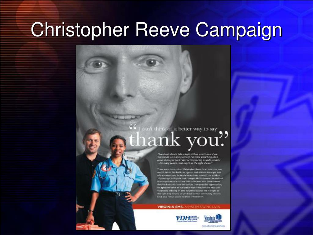 Christopher Reeve Campaign