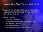 maximizing your retention efforts30