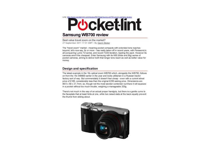 Samsung wb700 review pocket lint