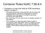 container rules njac 7 26 8 423