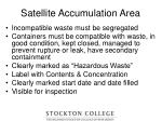 satellite accumulation area16