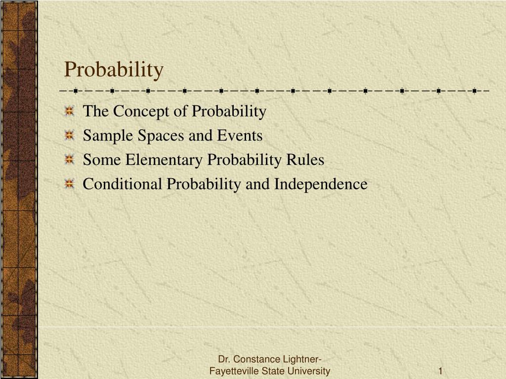 probability l.