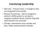 convincing leadership11