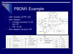 pbdm1 example