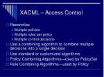 xacml access control