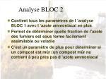 analyse bloc 2