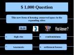 1 000 question